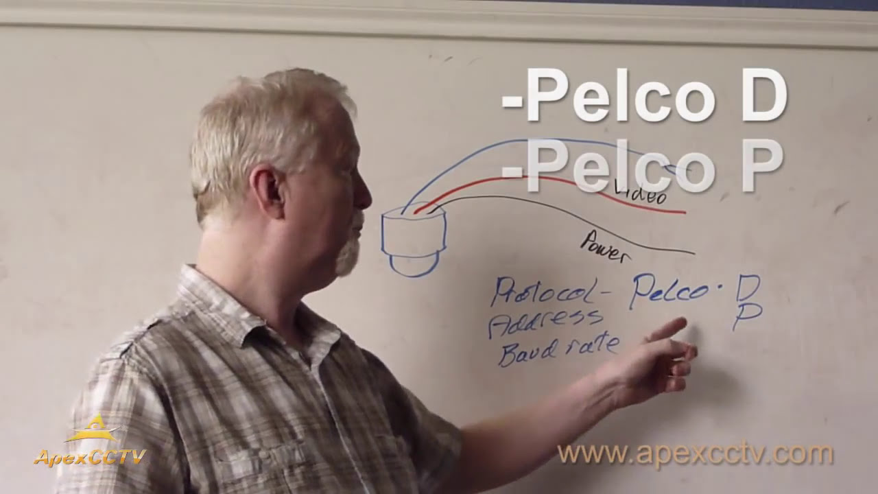 hight resolution of video tutorial how to install a ptz security camera youtube pelco wiring diagram pelco ptz wiring