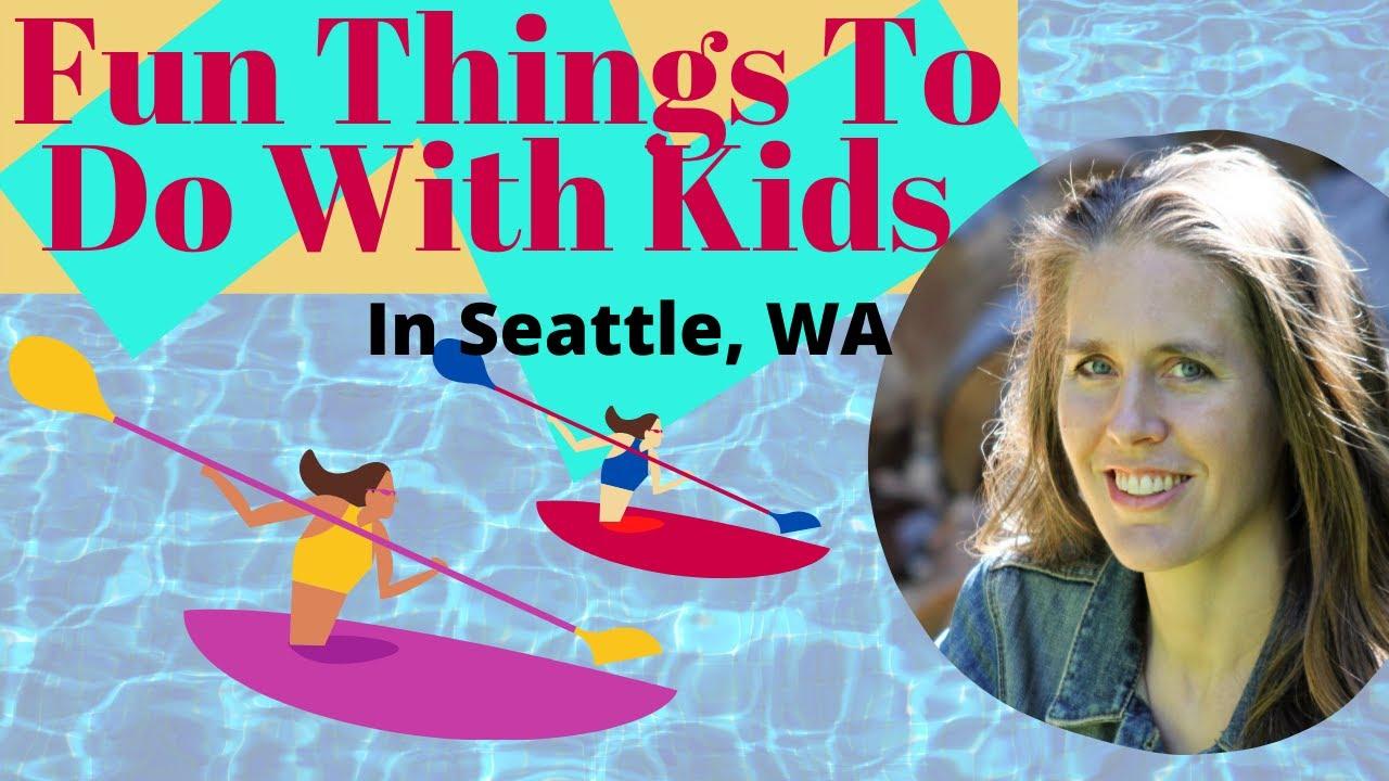 Fun Things To Do With Kids In Seattle, Washington In Summer - Kayaking at South Lake Union