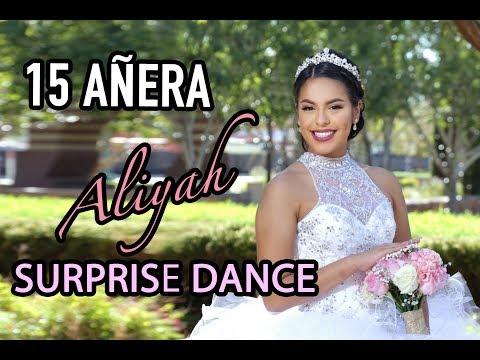 EL MEJOR BAILE SORPRESA  ALIYAH | BEST SURPRISE DANCE QUINCEAÑERA
