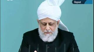 Cuma Hutbesi Türkçe tercümesi 2nd September 2011 - Islam Ahmadiyya