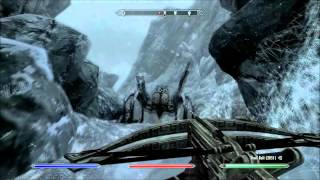Skyrim Dawnguard Walkthrough Part 9 (Forgotten Vale)