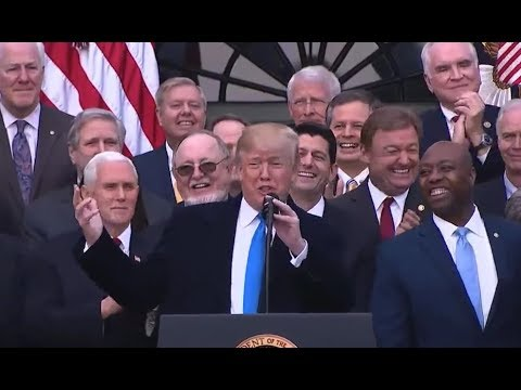 BREAKING: President Donald Trump gives EXPLOSIVE Speech on Tax Cuts and Reform VICTORY