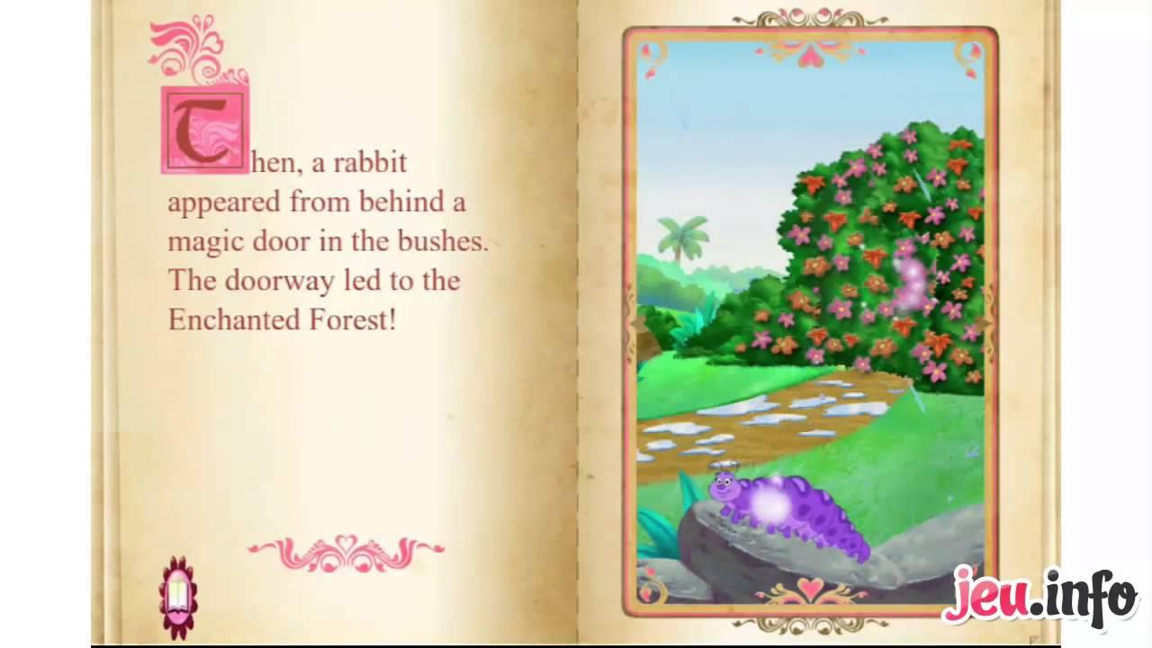 jeu dora lexploratrice dora et la foret enchantee iphone