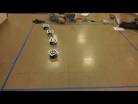 UC Berkeley ME102B Final Project, Spring 2013 - Mobile Autonomous Robotic Network