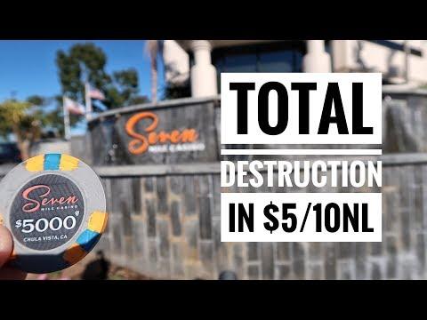 Total Destruction in $5/10NL (Of My Bankroll) | Poker VLog 7