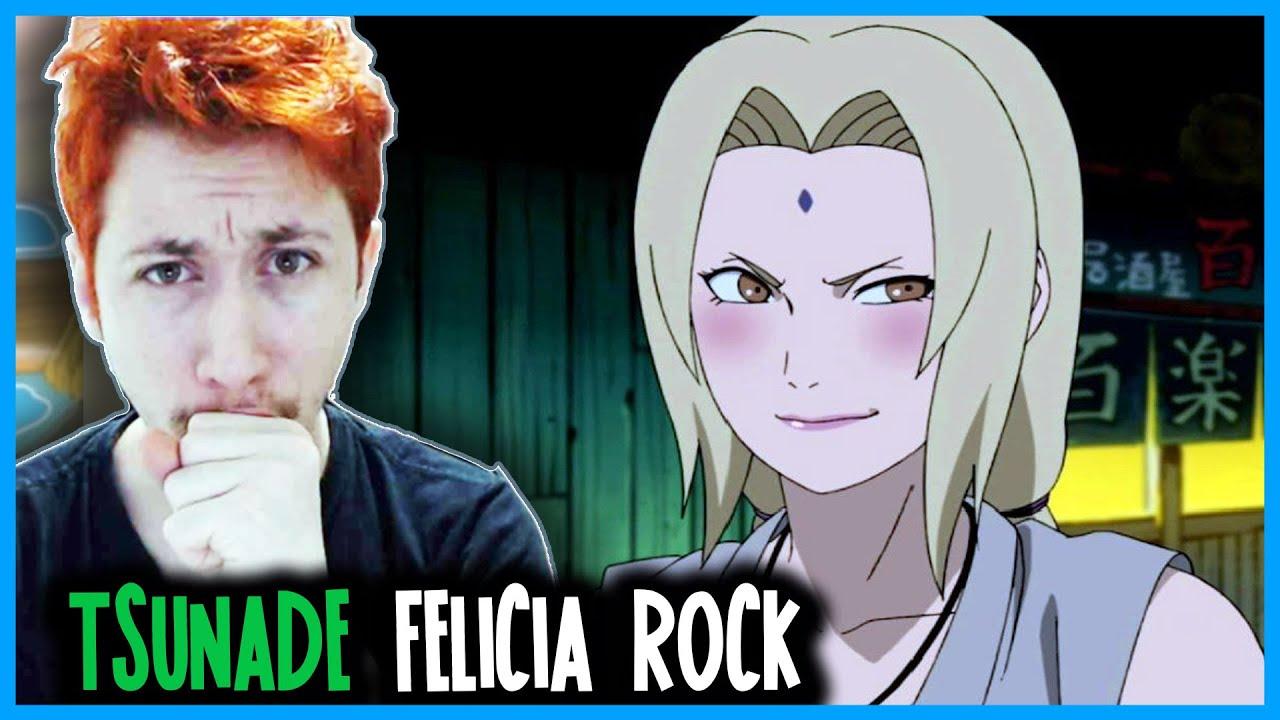 REACT Rap da Tsunade ( Naruto ) RESPEITE A GODAIME | Felícia Rock [ Prod. 808 Ander ]