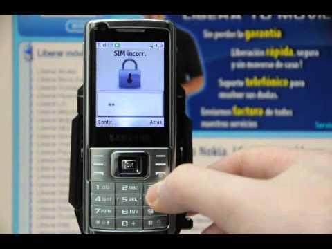 Liberar Samsung L700, desbloquear Samsung L700 de Movistar - Movical.Net