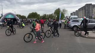 Велопробег в Калининграде, 45 км по области.