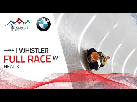 Whistler | BMW IBSF World Championships 2019 - Women's Skeleton Heat 3 | IBSF Official