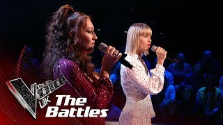 Molly Hocking vs Connie Lamb The Voice U.k S8 Battles sings With You - Subtitulado Video