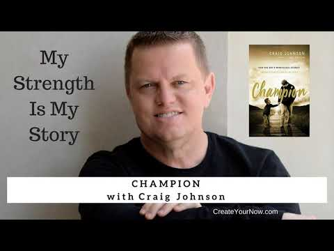 1181 My Strength Is My Story with Craig Johnson, Champion