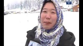 Ground Report: Hindi speaking Koreans relish heavy snowfall in Gulmarg