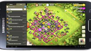 Clash of Clans #61 - Clanmember Besuche / Let's Play Clash of Clans / Android_iOS