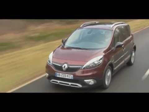 Car Renault Scenic Xmod 2013 Review HD