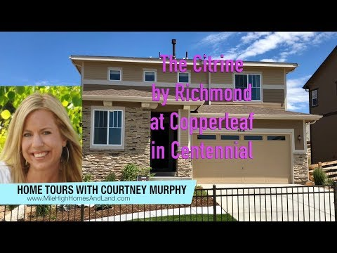 New Homes in Centennial Colorado - Citrine Model  by Richmond at Copperleaf