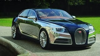 Bugatti 16 C Galibier Concept Videos
