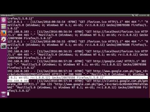 webserver administration: reverse and forward proxy