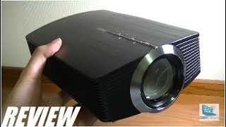 REVIEW: OMZER Mini LED Video Projector (HDMI)