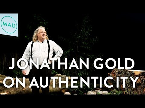 "Jonathan Gold at MAD3: ""On Authenticity"""
