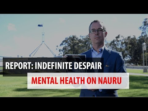 MSF releases report about the mental health consequences on Nauru