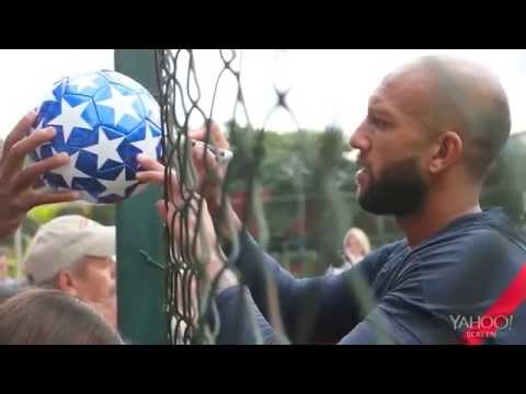 Tim Howard on why he embraces his Tourette syndrome