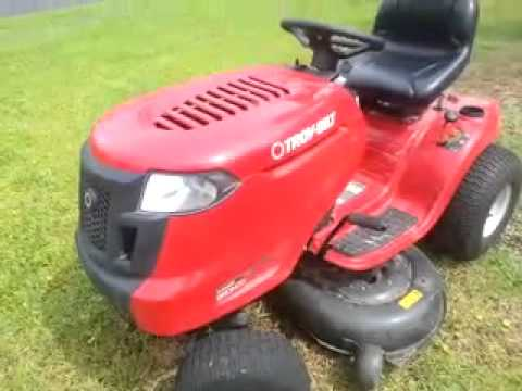 Cold Start In The Snow Troy Bilt Xp 21 Inch Lawn Mower 7