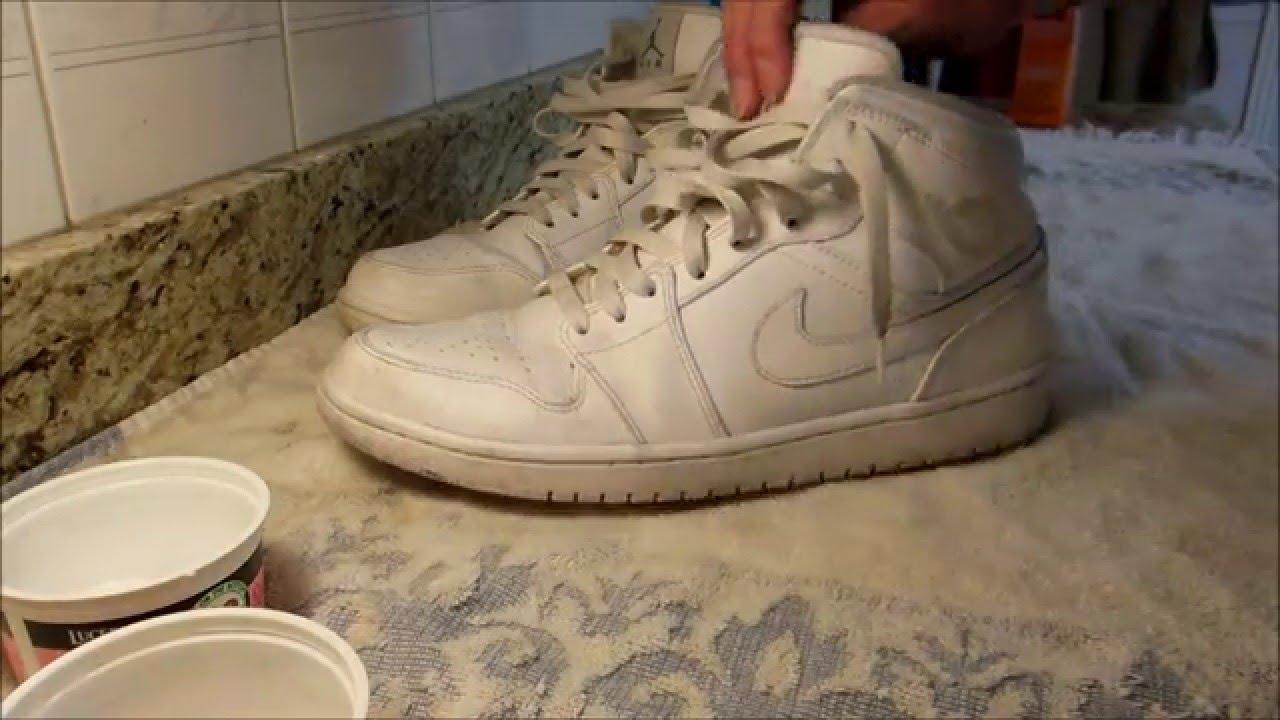 148c86dcd51291 How to Clean Air Jordan 1 s All White (READ DESCRIPTION) - YouTube