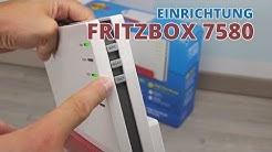 Fritzbox 7580 einrichten - WLAN-Router Anleitung - so geht's