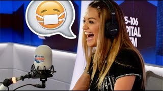 Rita Ora Rings Up A Pub To Throw A Sickie For A Job She Doesn't Even Have!