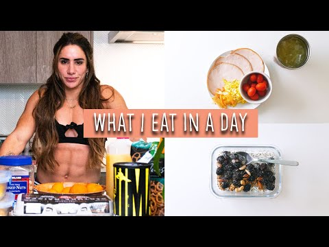 What I Eat In A Day As A World Record Holding Powerlifter | Meal Ideas