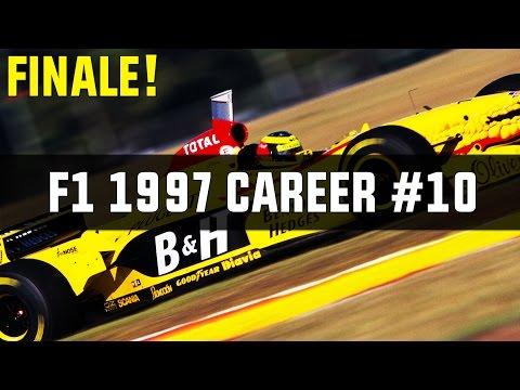 FINALE! F1 2014 | 1997 Mod Career Part 10 | Jordan Peugeot | Japanese + European GP
