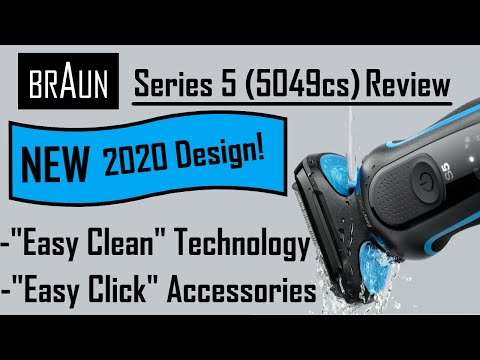 Braun NEW 2020 Series 5 Electric Shaver Review | Model 5049cs | What's New For 2020??