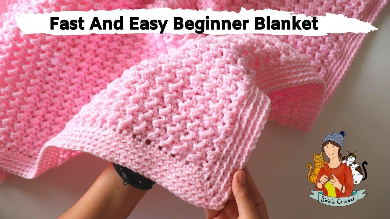 Crochet A Baby Blanket Youtube