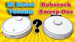 Compare ROBOROCK SWEEP ONE S50 to XIAOMI MI ROBOT VACUUM. Which is better?