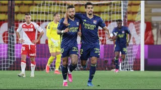 Monaco 2:3 Lyon | France Ligue 1 | All goals and highlights