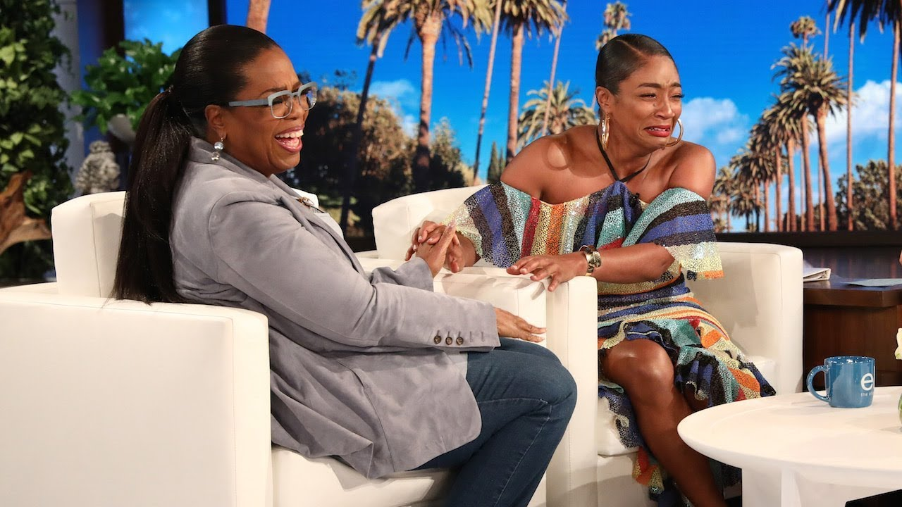 Oprah Shocks Superfan Tiffany Haddish