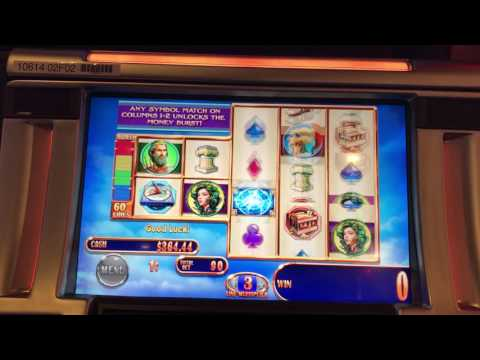Money Burst Pegasus III Bonus! Harrahs Lake Tahoe