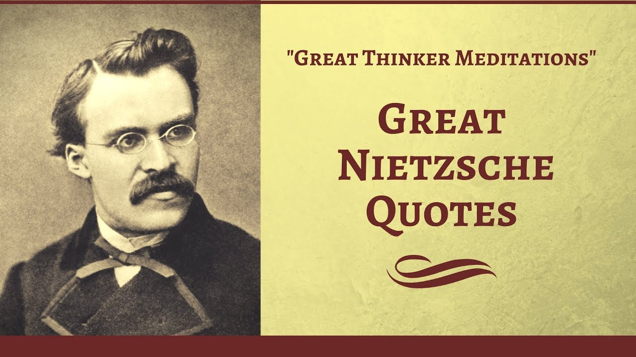 Top Quotes - Great Friedrich Nietzsche Quotes - YouTube