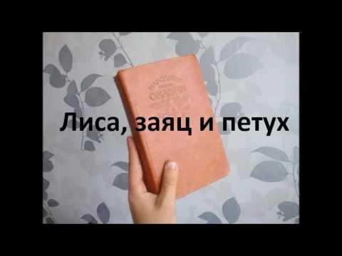 Русские народные сказки. Лиса, заяц и петух