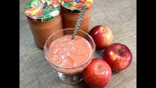 Плохо яблоко хранится , но в пюре зимой сгодится! Яблочное пюре на зиму.