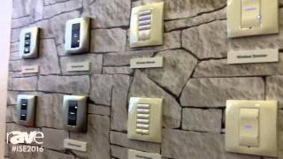 ISE 2016: Control4 Shows Square Wireless Keypads, Dimming, and Switch Products for European Markets