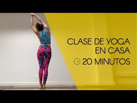Clase de Yoga en casa de 20 minutos para activar el cuerpo.