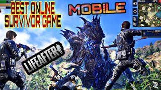 Best Online Zombie Survivor Game on Mobile!!! LifeAfter: night falls Gameplay!!!