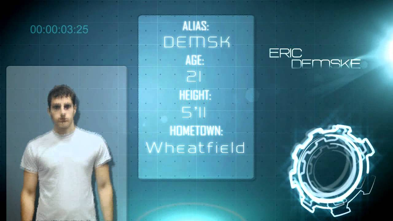 Player Profile Page After Effects CS5