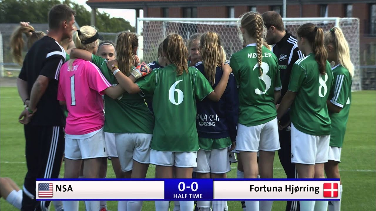 eded4d7dc1c Dana Cup 2015 A-finale G13 - NSA - Fortuna Hjørring - YouTube