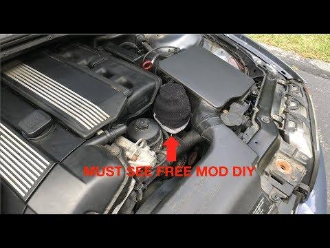 Keep Your BMW's Engine Bay CLEAN | e46 SOCK MOD