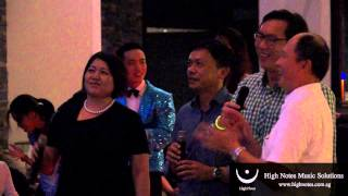 Catherine Ong & Friends performs FLY ME TO THE MOON
