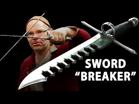 Sword 'Breaker' or Sword 'Catcher'?