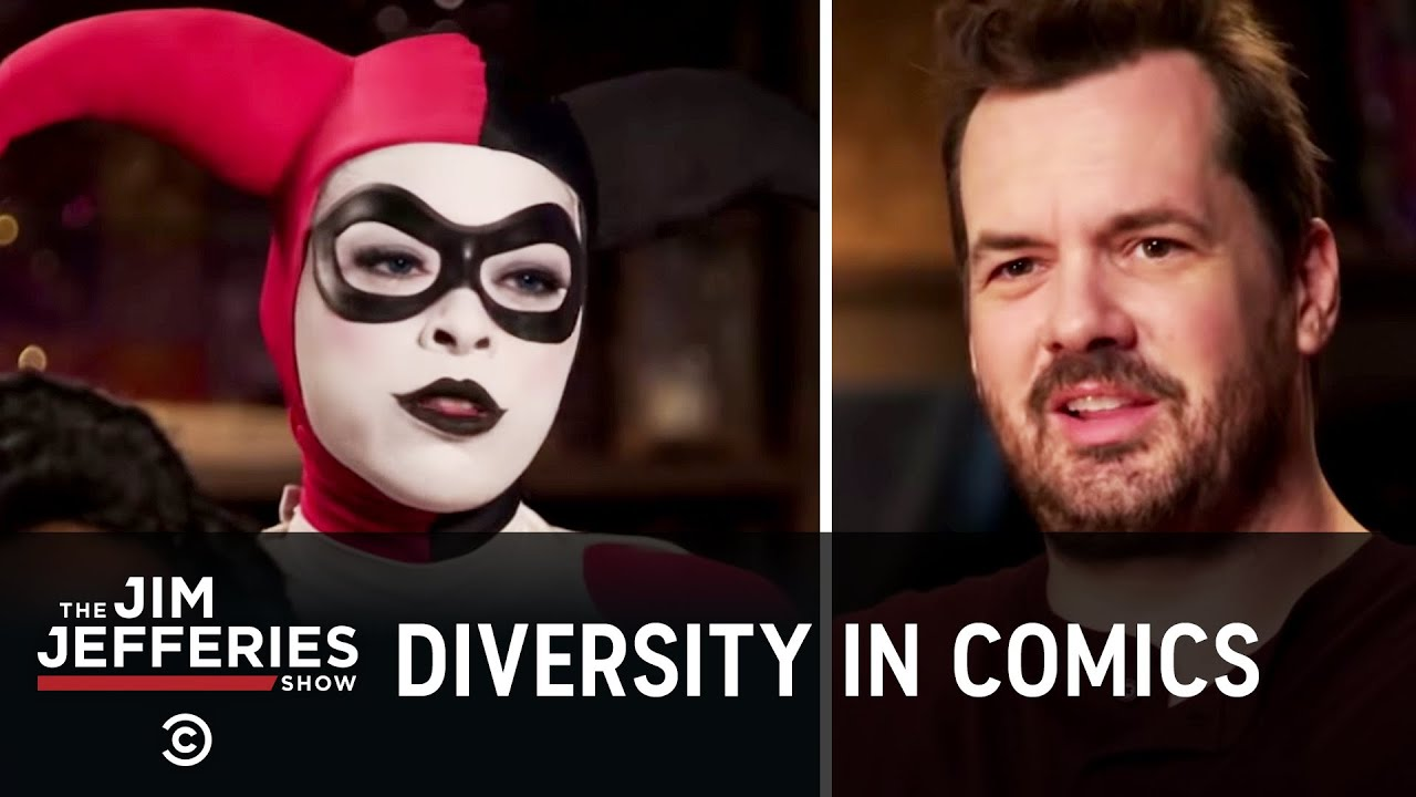 Diversity in Comics Makes Bigots Mad - The Jim Jefferies Show