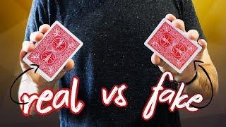 ORIGINAL vs. FAKE Bicycle Playing Cards